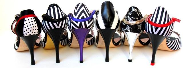 Comme Il Faut modular tango shoes