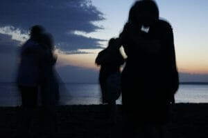 Argentine Tango on the beach with TangoForge