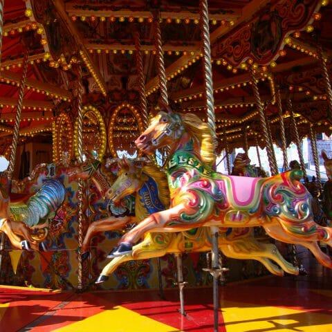 Merrygoround Carousel Horses