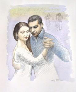 Iris Toren tango portraits