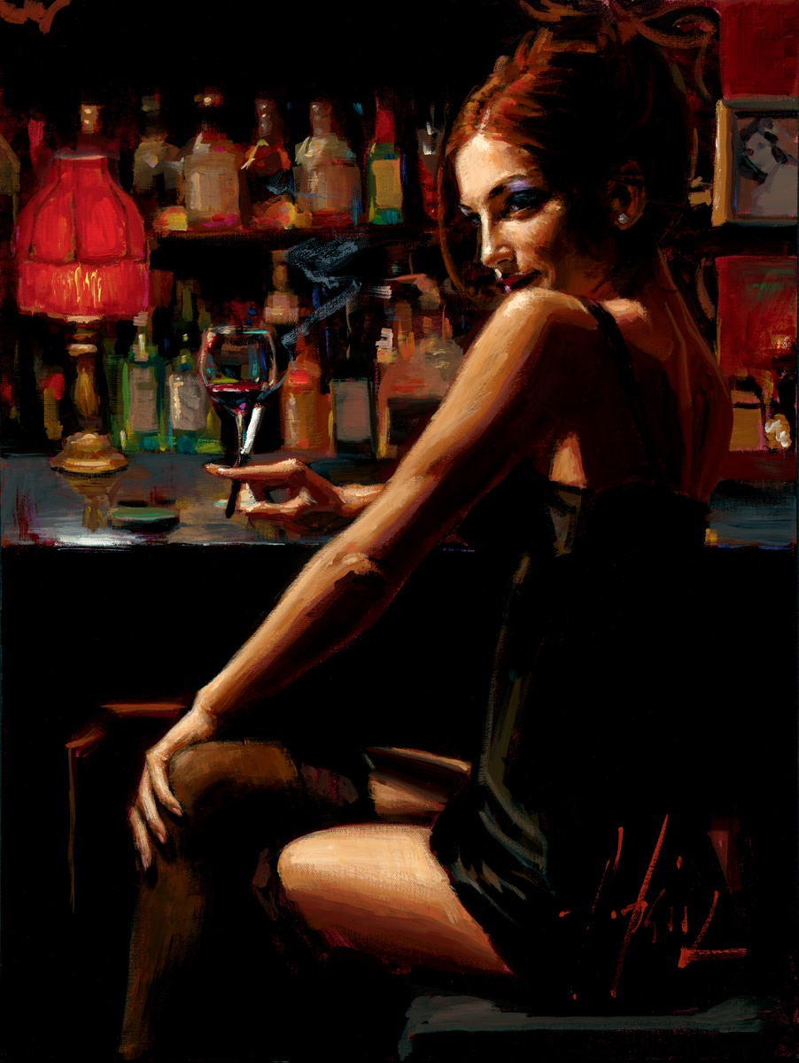 Fabian Perez tango paintings