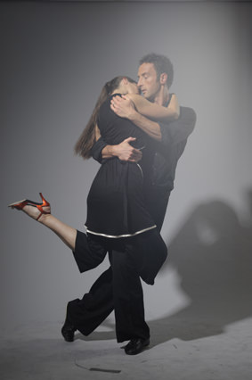Judith Preuss and Constantin Rüger