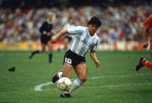 Maradona and Tango