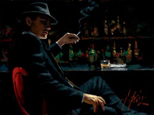 Fábian Pérez tango painting