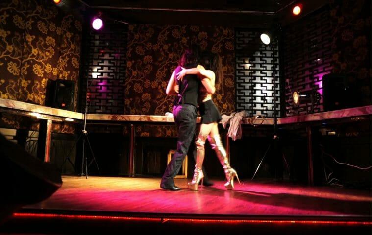 TangoForge Argentine Tango Vio y Nick Red Light Confidential Sydney 2015
