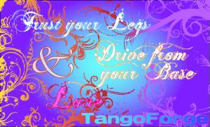 Argentine Tango: Trust your legs
